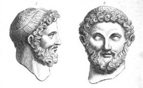 Bronze head of Jupiter