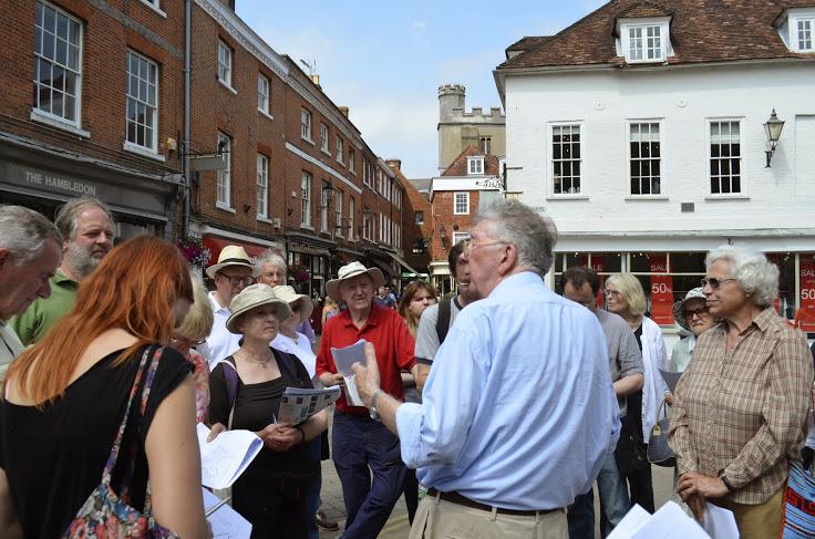 Walking tour Anglo-Saxon streets 19th July 2014