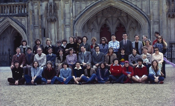 Members of the Winchester Research Unit 1977.